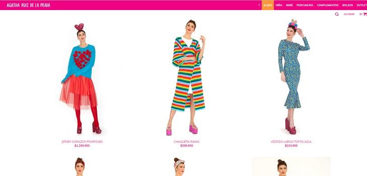 Agatha Ruiz de la Prada  hace click  en Colombia y lanza su tienda online 84c193969ab
