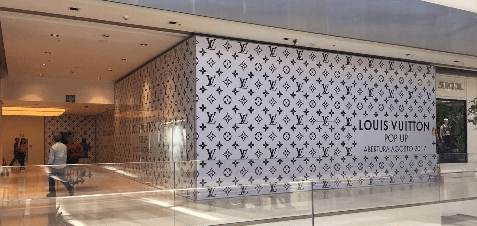 LVMH impulsa Louis Vuitton en Brasil con un 'pop up store' en Goiania