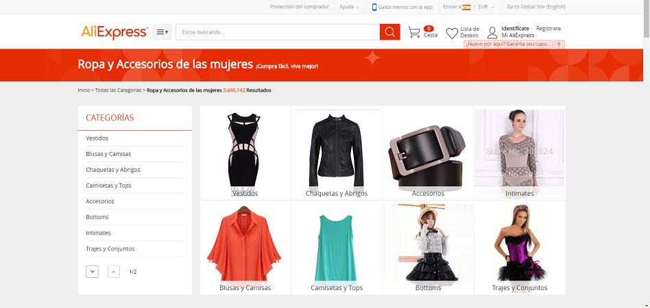Aliexpress crece en Chile  moda y joyas lideran las ventas en el país  8a4cccc8c9ca5