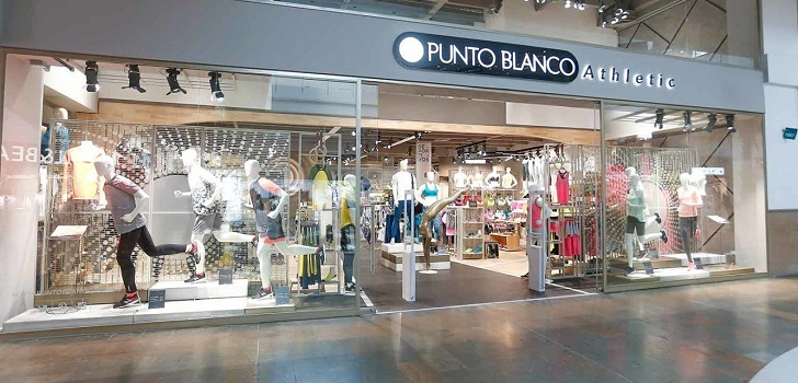 Punto Blanco impulsa Athletic en Colombia:40 tiendas en cinco años