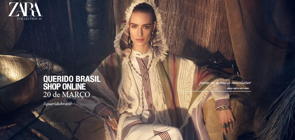 Inditex da un paso más en ecommerce  Zara lanza su tienda online en Brasil 0b1fd24e55b
