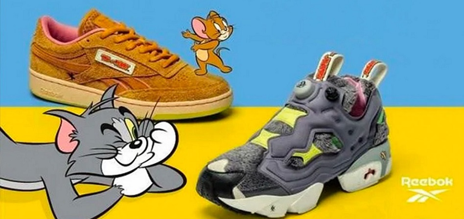 Tom y Jerry 'atrapan' a Reebok