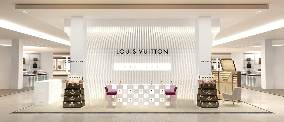 Louis Vuitton impulsa su negocio de fragancias con un nuevo 'pop up' en Estados Unidos