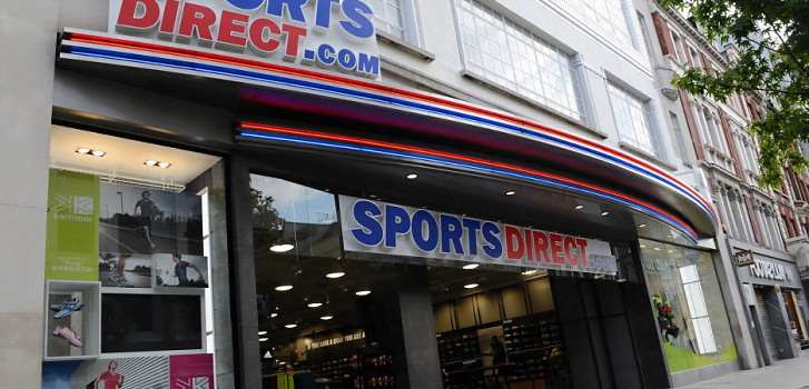 Sports Direct eleva un 11,7% su facturación en 2016 impulsado por el tirón internacional